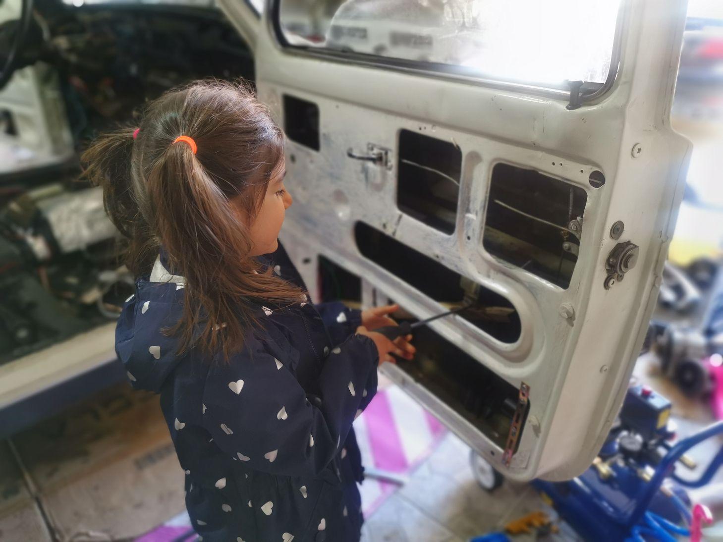 Lada Niva Projekt- erst 4 dann 8 und nun 12 Wochen Arbeit