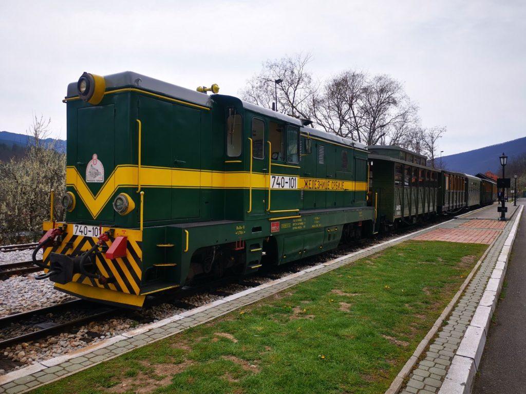 Šarganska Osmica - The Shargan 8 der Zug