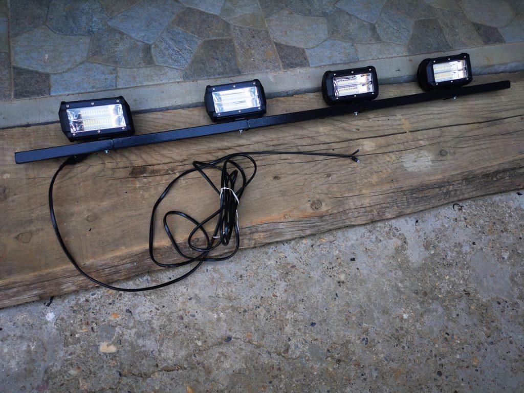 LED Leuchten für Lada Niva als Fernlicht