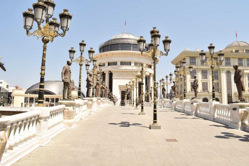 Beim Treffen in Skopje wurde die Open Balkan Initiative beschlossen