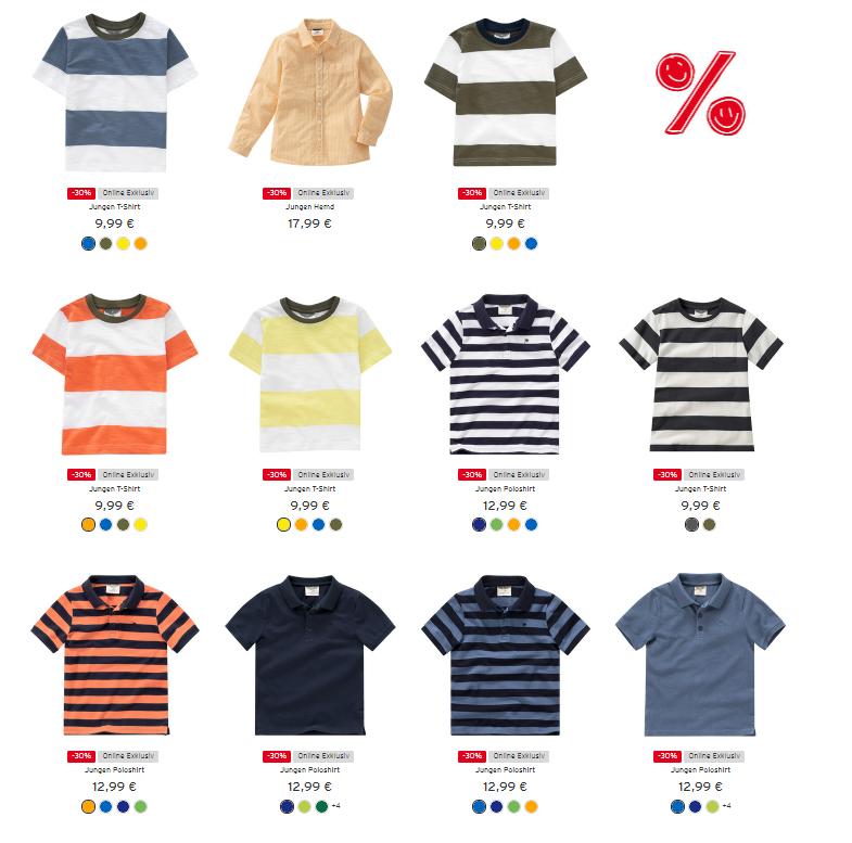 Ernsting's-family-Jungen-Produkte
