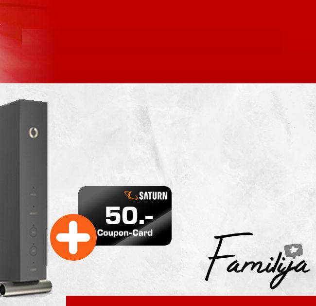 Internet Zuhause - Vodafone Kabel mit 50 Mbits im Download volle 24 Monate nur 19,99€ monatlich - zudem 50 Euro Einkaufs-Coupon