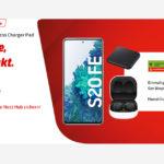 Knaller Handytarif bei MediaMarkt - Galaxy S20 FE mit 3 Zugaben nur 19,99€ monatlich