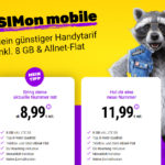 SIM Karte mit 8 GB LTE im Vodafone Netz für 8,99 Euro monatlich und auch noch monatlich kündbar - So bekommst du diesen Tarif!