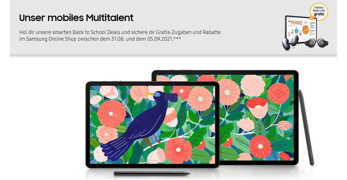 Samsung Online Shop mit attraktiven Zugaben – Galaxy S21 5G Modell kaufen und gratis Galaxy Buds Pro oder Buds Live sichern