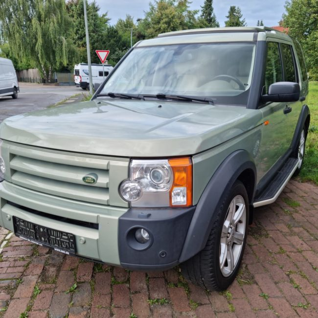 Unser Entdecker Auto - Land Rover Discovery 3 Camper Edition